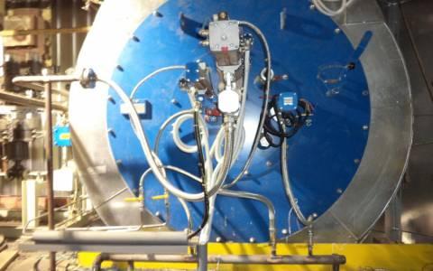 Gorionici lakog lož ulja za kotao bloka 6 u Termoelektrani Tuzla